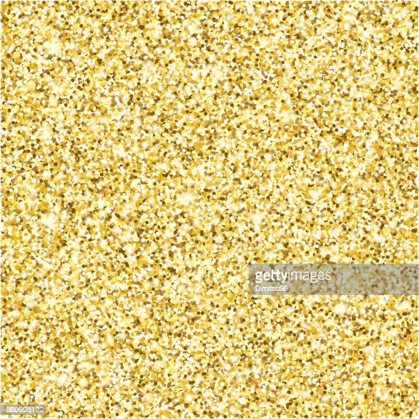 gold glitter texture vector background - gold colored stock illustrations, clip art, cartoons, & icons