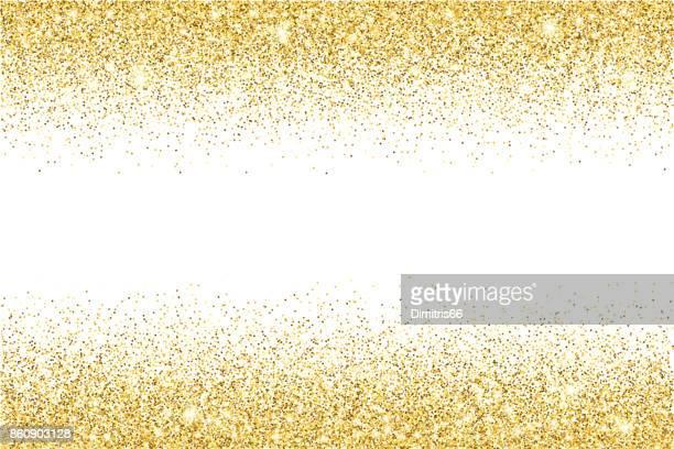ゴールドラメ テクスチャ ベクトル グラデーションの背景