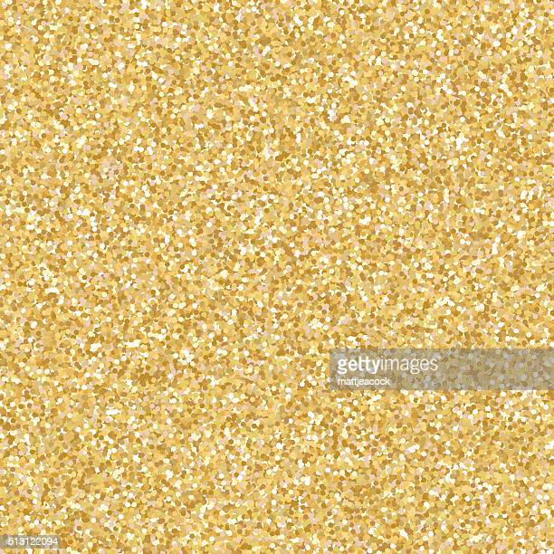 Gold glitter vector background