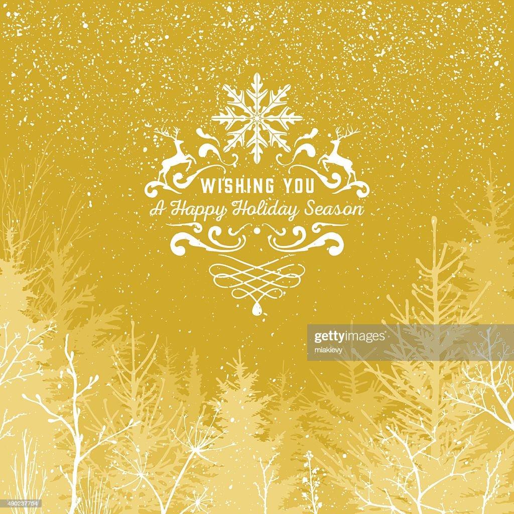 Gold Holiday season