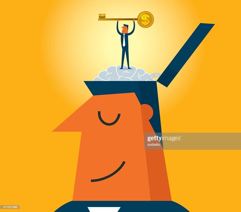 Gold Key : stock vector