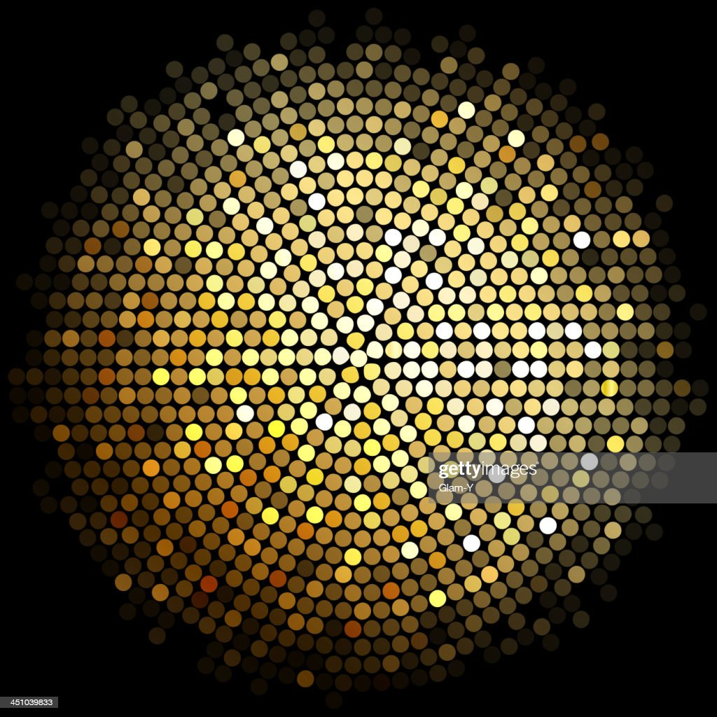 Gold lights ball