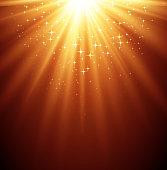 Gold Magic light