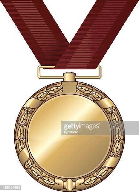 gold medal blank