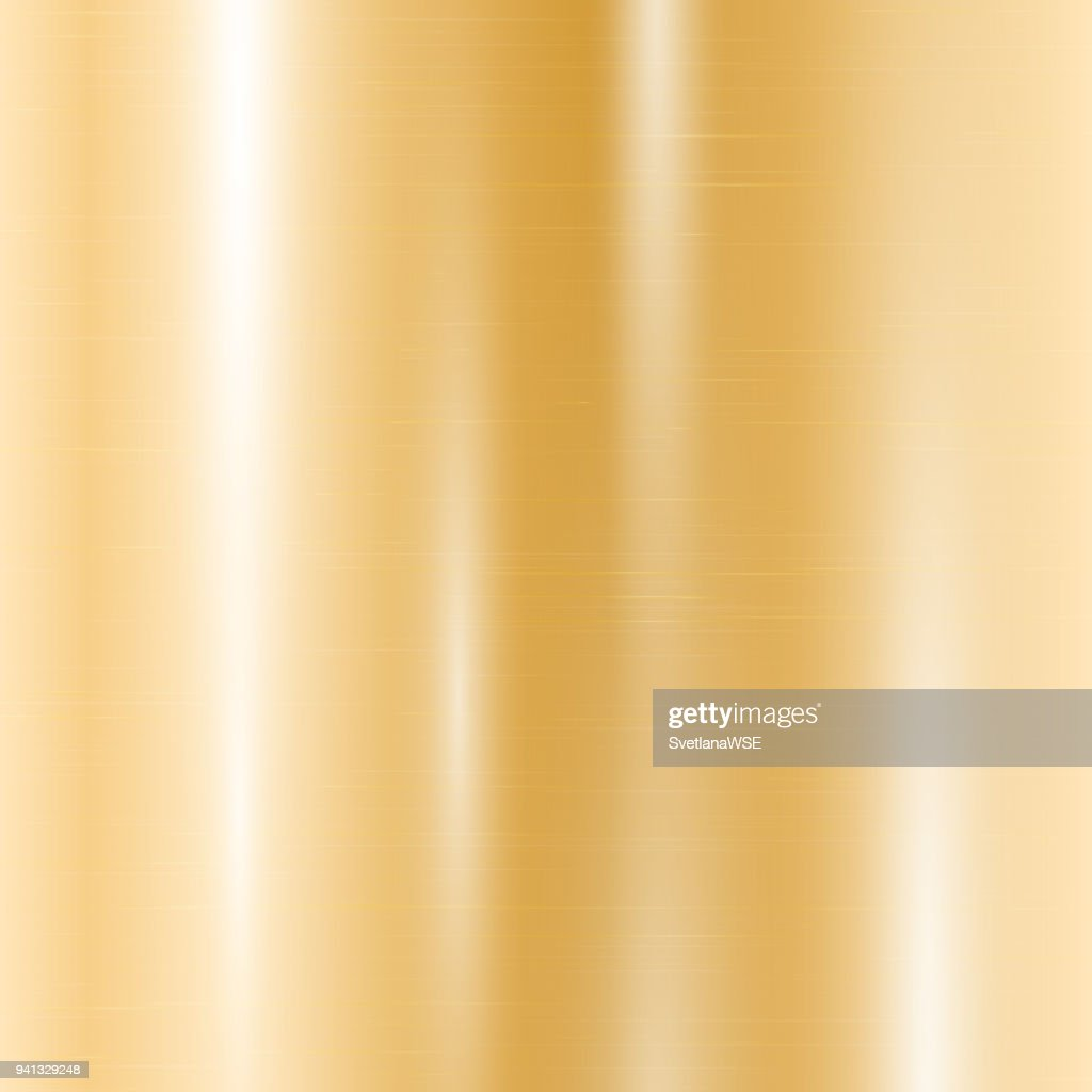 Gold metallic gradient