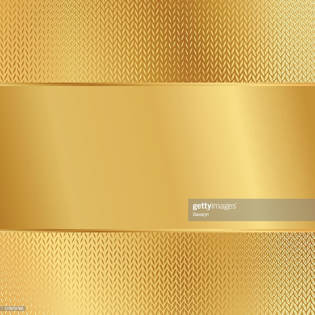 A gold paper on a gold background
