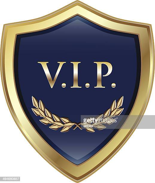 vip 金 shiled - ファーストクラス点のイラスト素材/クリップアート素材/マンガ素材/アイコン素材
