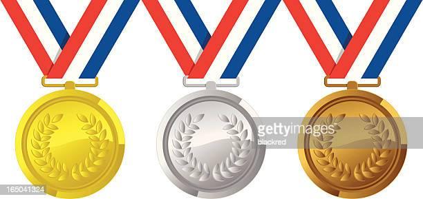 Gold Silver Bronze