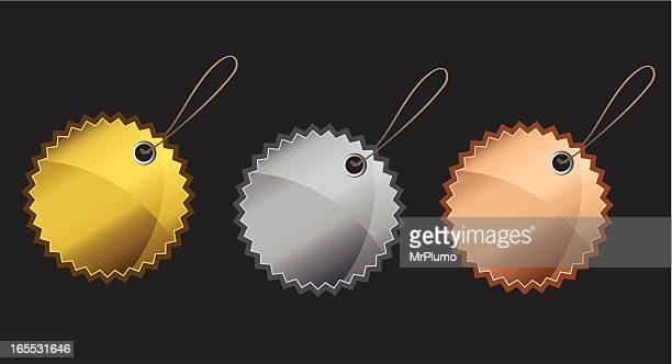 Gold Silver Bronze | web badge series