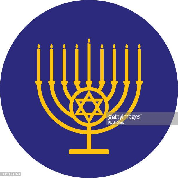 World S Best Menorah Stock Vector Art And Graphics Getty Images