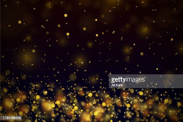 gold stars dots scatter texture confetti background - celebrities stock illustrations