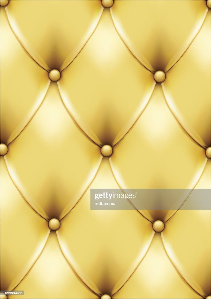 Gold vintage leather pattern