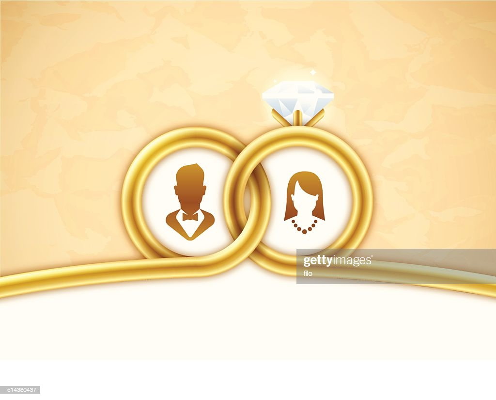 Gold Wedding Background High Res Vector Graphic Getty Images