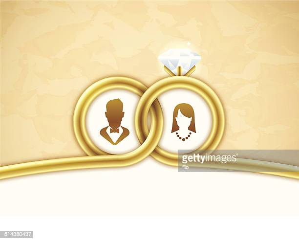 Gold Wedding Background