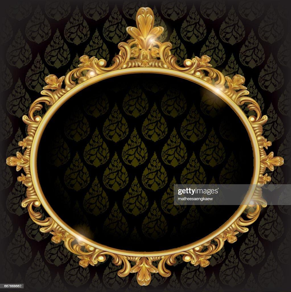 Mirror frame vector Royal Golden Decor Mirror Frame Vector Clipartme Free Mirror Frame Clipart And Vector Graphics Clipartme