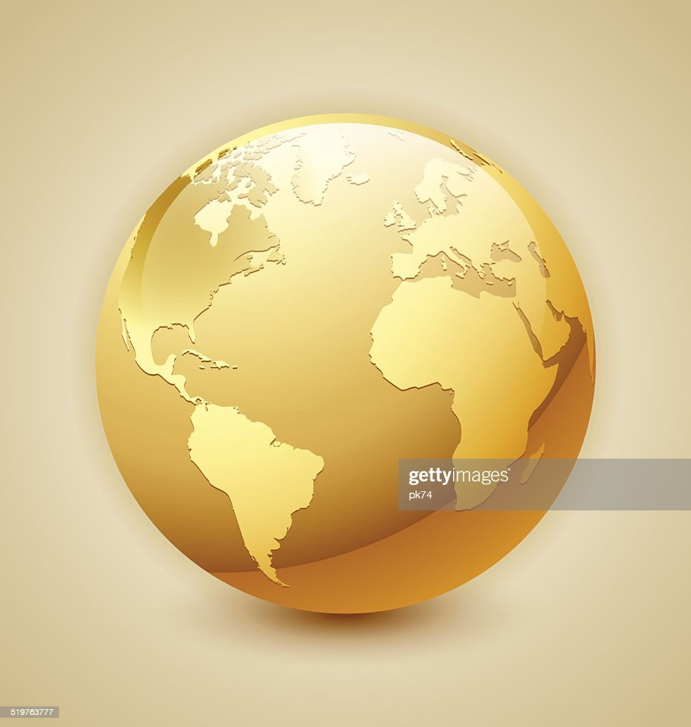 Golden Earth icon