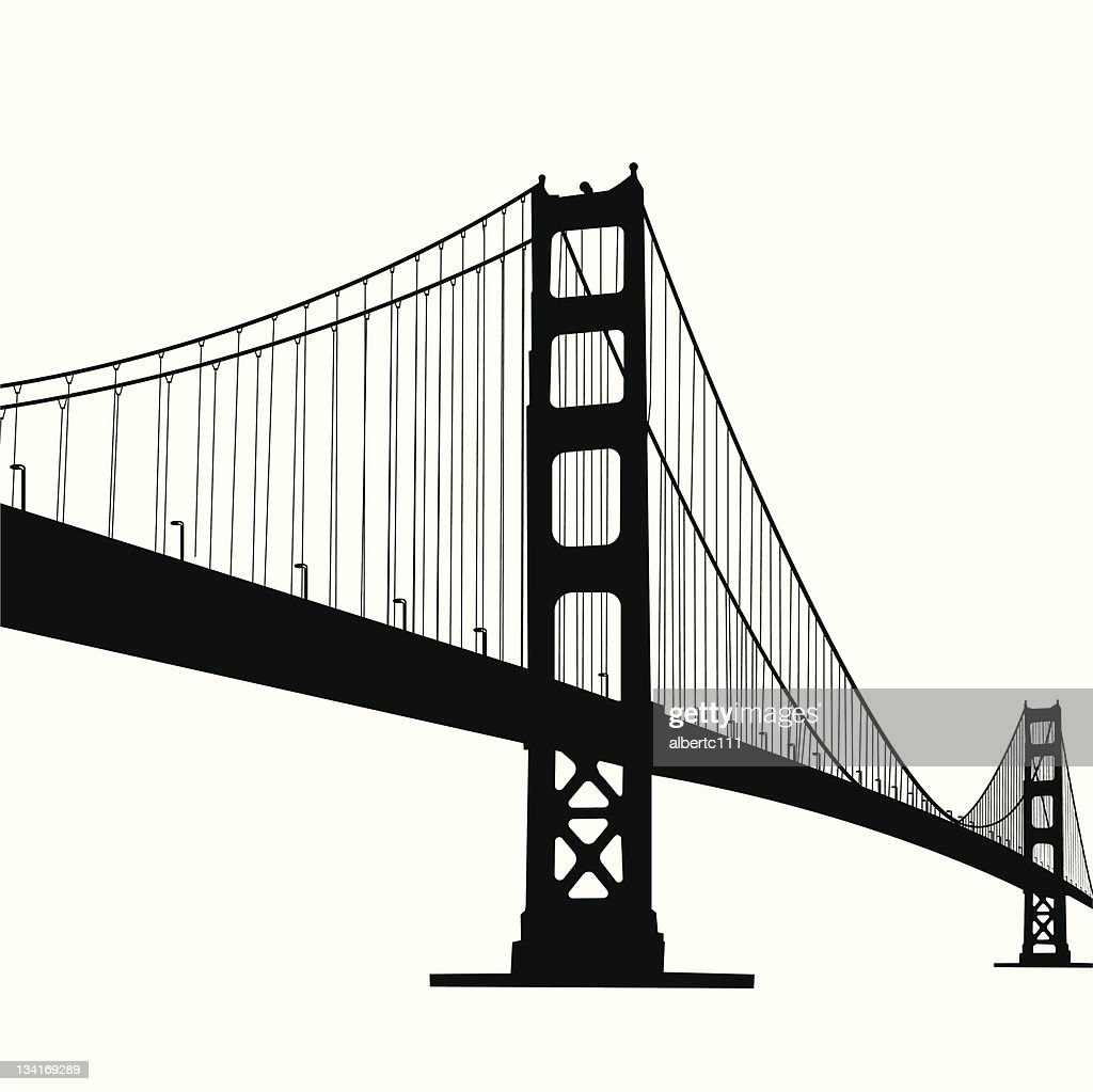 free download of golden gate bridge vector graphics and illustrations rh vector me golden gate bridge vector art golden gate bridge vector logo