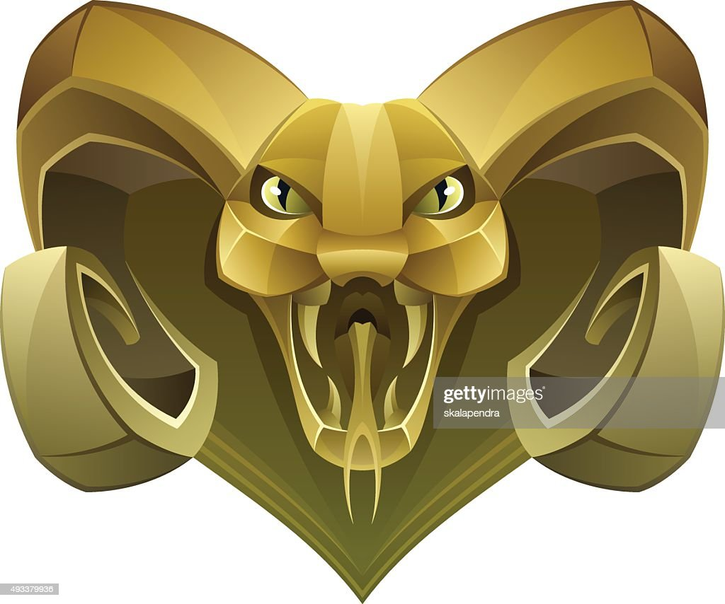 Golden head dragon