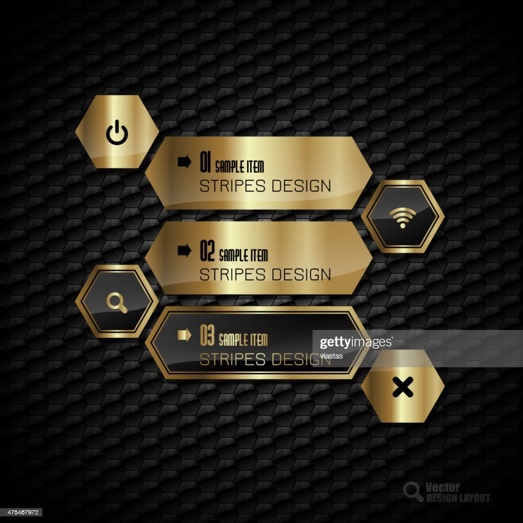 Golden Hexagons