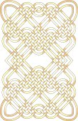 Golden knotwork