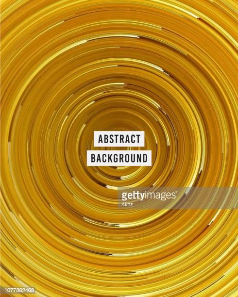 goldenen linien wirbelnden strudel surrealen hintergrund - rätsel stock-grafiken, -clipart, -cartoons und -symbole