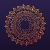 golden mandala symbol healing union