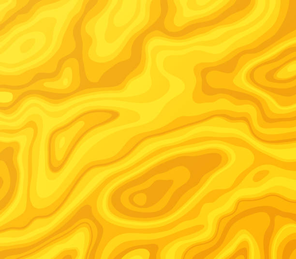 golden melted abstract background - melting stock illustrations