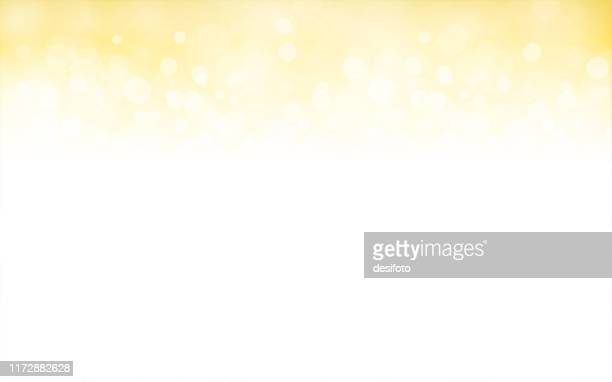 golden, pale yellow and white coloured shimmery shining starry look  merry christmas, new year festive background stock vector illustration. - sparks stock illustrations