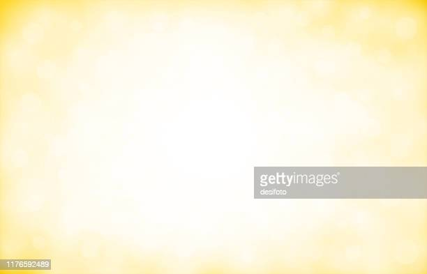 golden, pale yellow and white coloured shimmery shining starry look  merry christmas, new year festive background stock vector illustration. - vignette stock illustrations