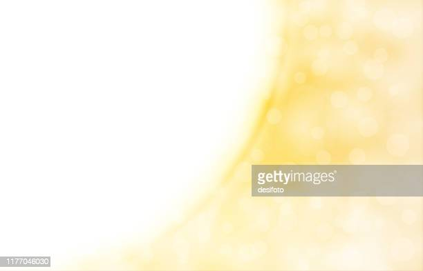 golden, pale yellow and white coloured shimmery shining starry look  merry christmas, new year festive background stock vector illustration. - softness stock illustrations