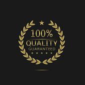 Golden Quality badge