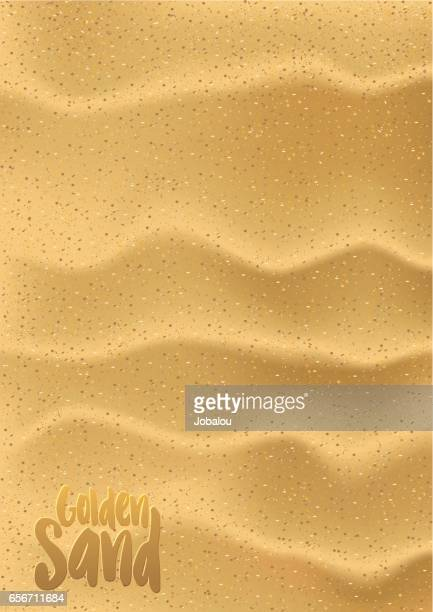 golden sand - sand stock illustrations