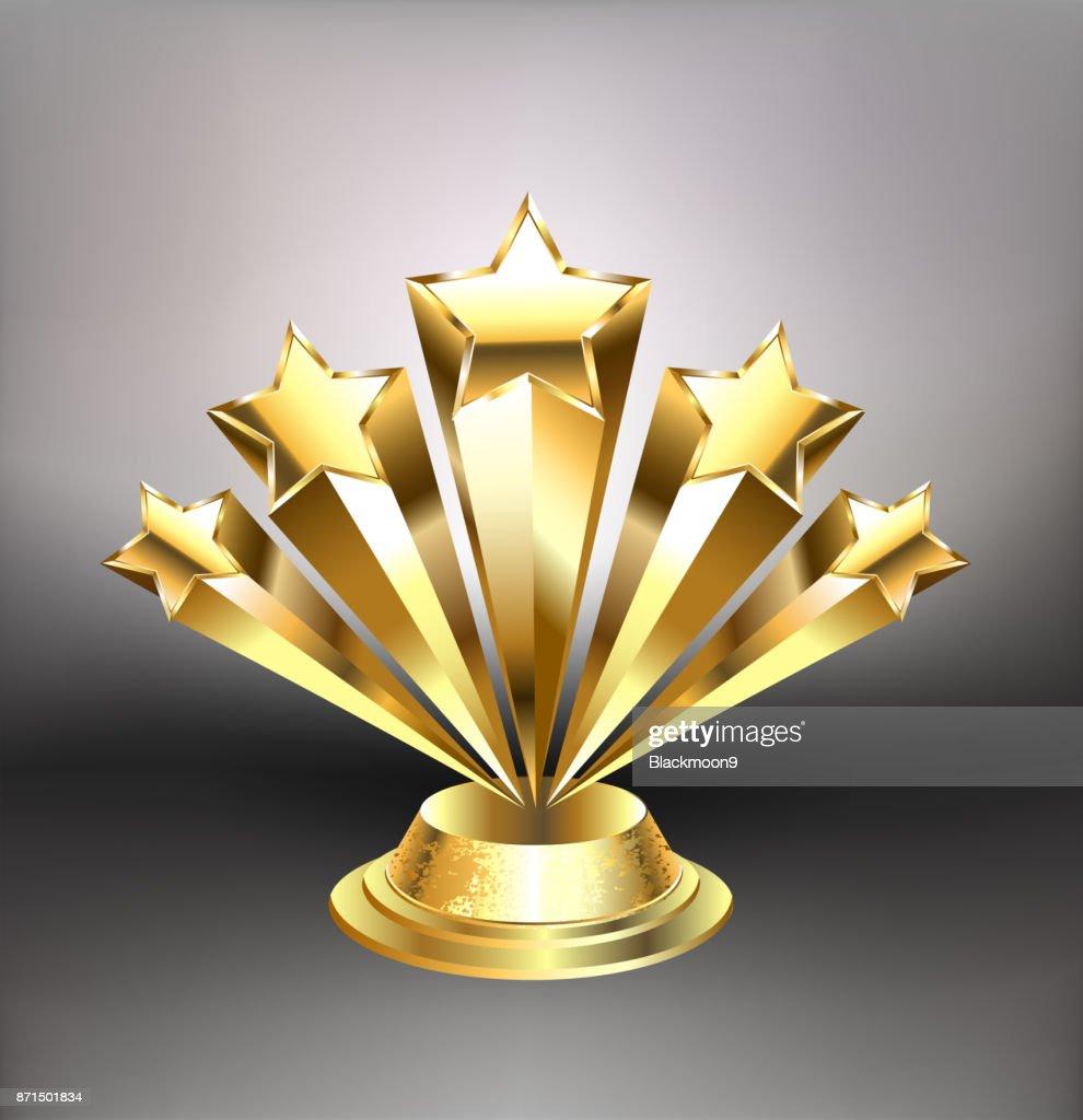 Golden stars award