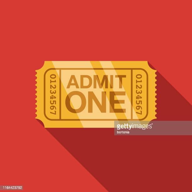 golden ticket award icon - ticket stock illustrations
