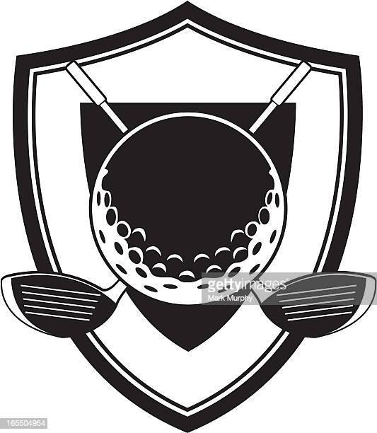 ゴルフボールおよびクラブのバッジ