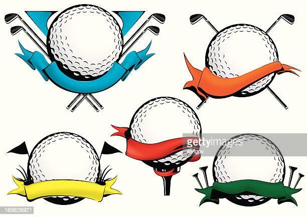 ゴルフボールアイコン - ゴルフボール点のイラスト素材/クリップアート素材/マンガ素材/アイコン素材