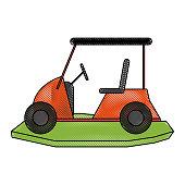 golf cart icon image