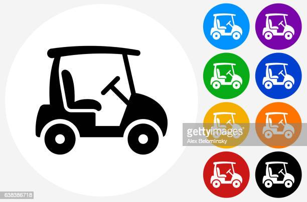 561 Golf Cart High Res Illustrations Getty Images