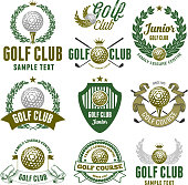 Golf Club Emblems