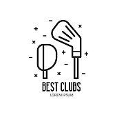 Golf Club or League Emblem
