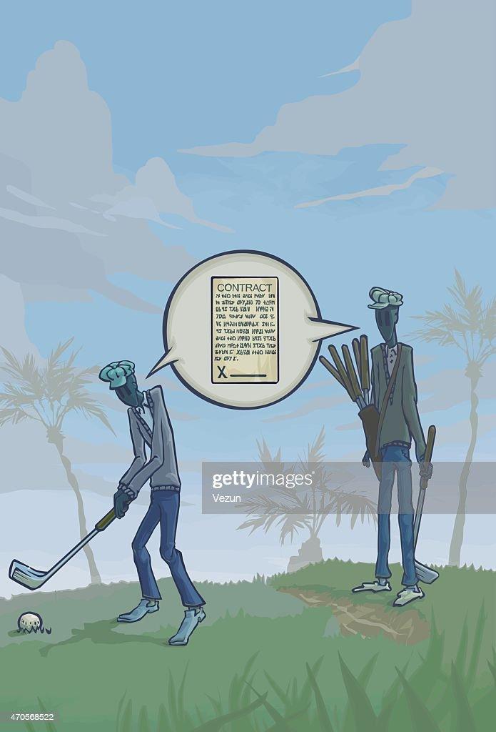 Golf Conversation