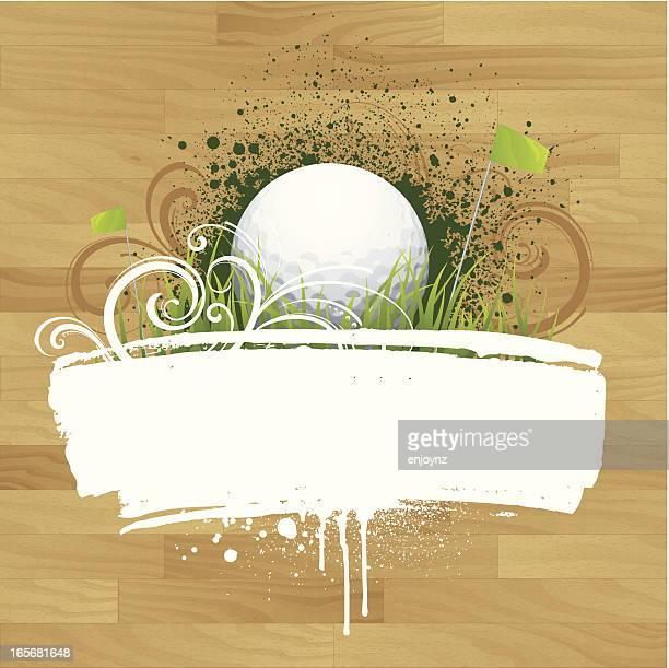 golf design - golf tournament stock illustrations, clip art, cartoons, & icons