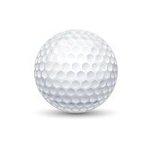 Golf game sport ball illustration