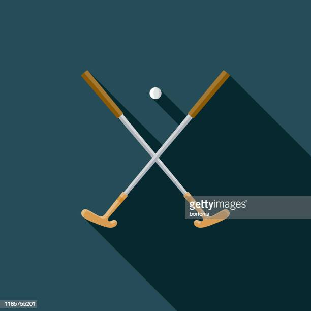 golf putter clubs icon - putting stock illustrations