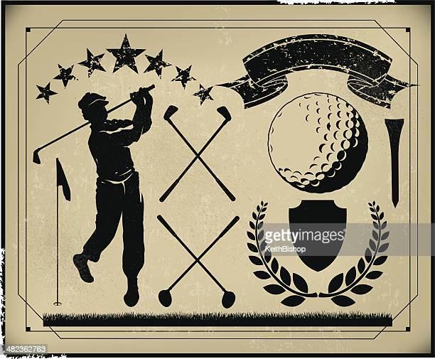 f52732c0cf8c6 60 Top Golf Club Stock Illustrations