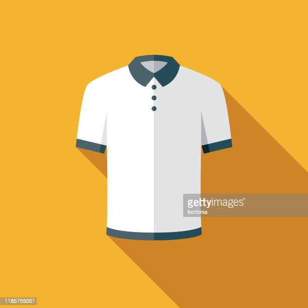 golf shirt icon - all shirts stock illustrations