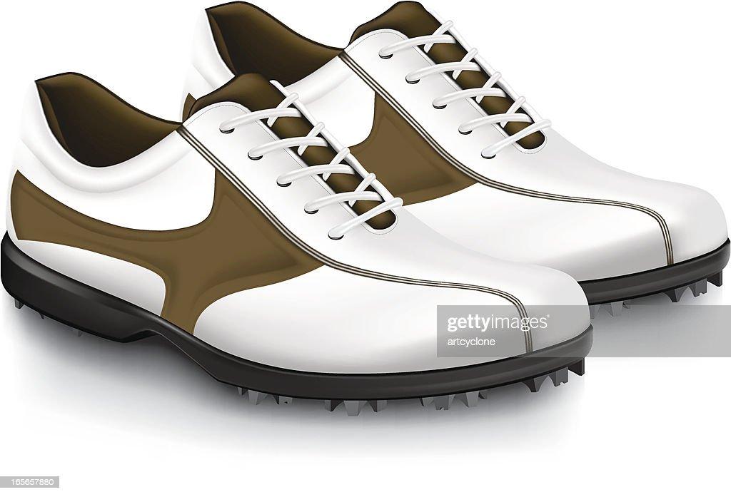Golf Shoe : stock illustration