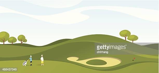 ゴルフ日曜日の