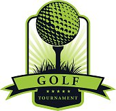 Golf Tournament Emblem