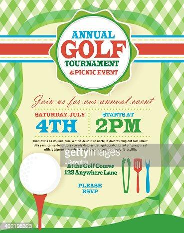 Redl womens golf tournament invitation design template on argyle keywords stopboris Gallery